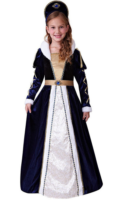 Elegant princess Girl Costume
