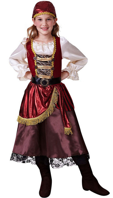 Beauty Girl Pirate Costume