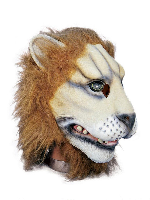 Fulffy Scary Lion Mask