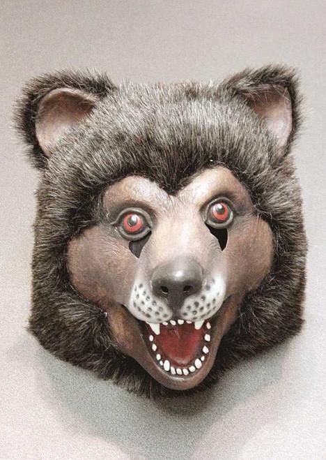 Fluffy Scary Bear Mask