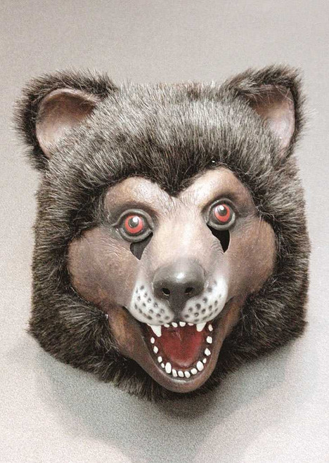 Fluffy Scary Bear Mask