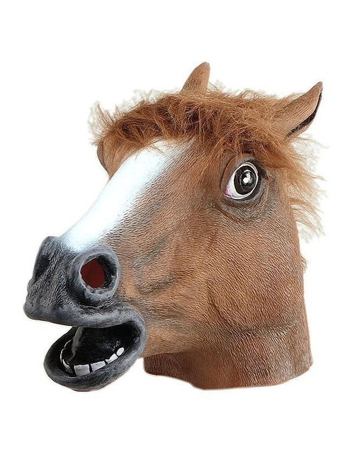 Believable Horse Head Mask