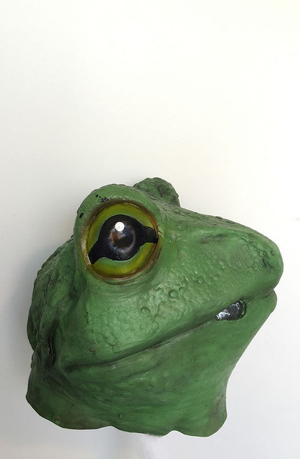 Frog Full Head Latex Mask