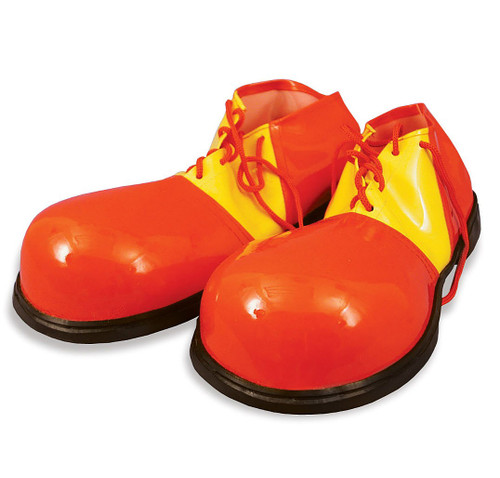 Red & Yellow Vinyl Clown Shoes