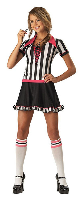 Referee Costume for Teen Girls