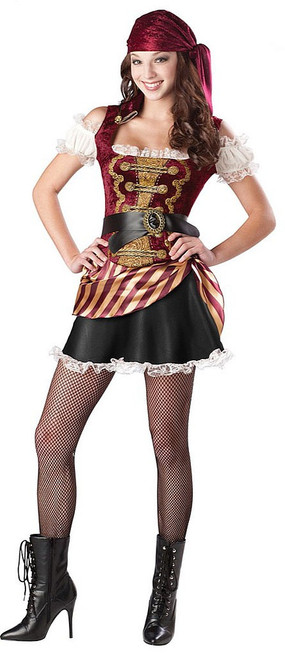 Babe Girl Pirate Costume