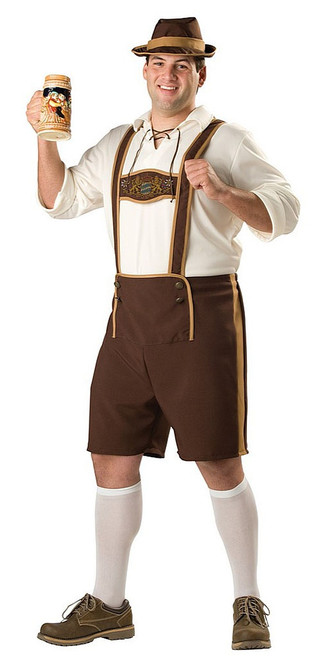 Bavarian Guy Plus Costume