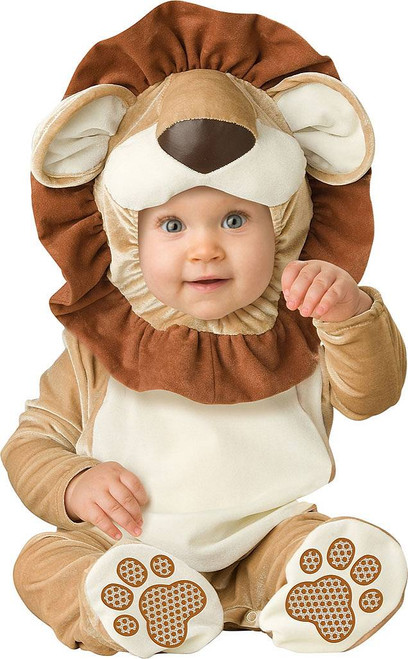 Toddlers Lovable Lion Costume