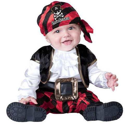 Cap'n Stinker Pirate Infant