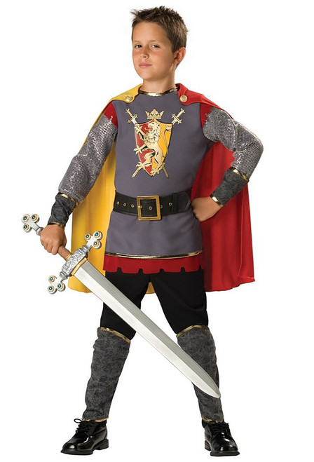 Loyal Knight Boy Costume