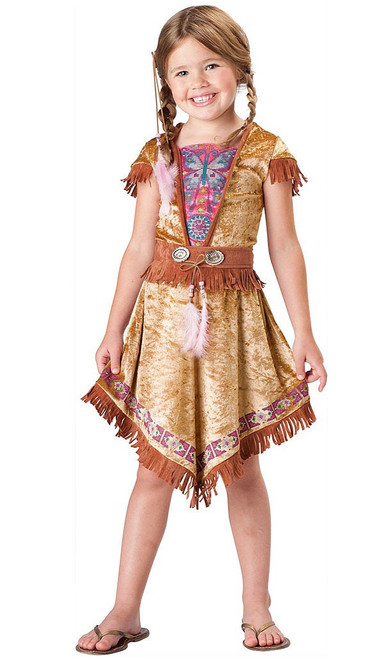 Indian Maiden Girl Costume