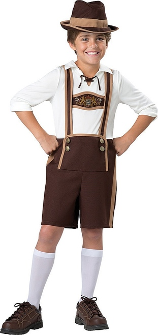 Bavarian Guy Child Costume