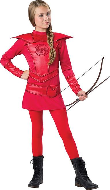 Red Warrior Huntress Child
