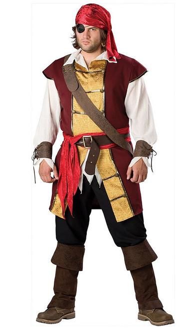 Swashbuckler Pirate Plus Costume