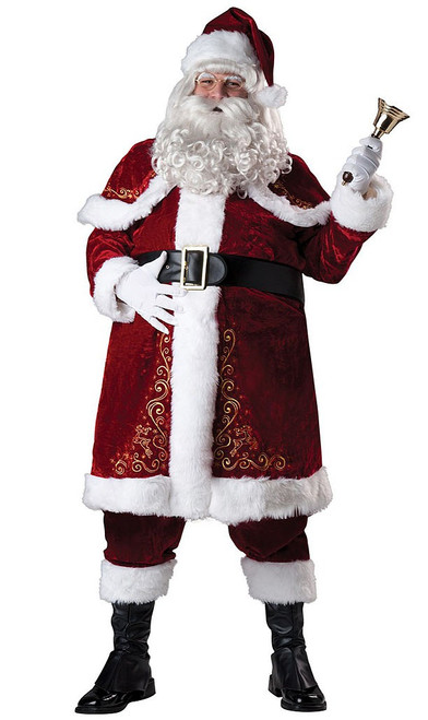 Jolly St. Nick Plus Costume