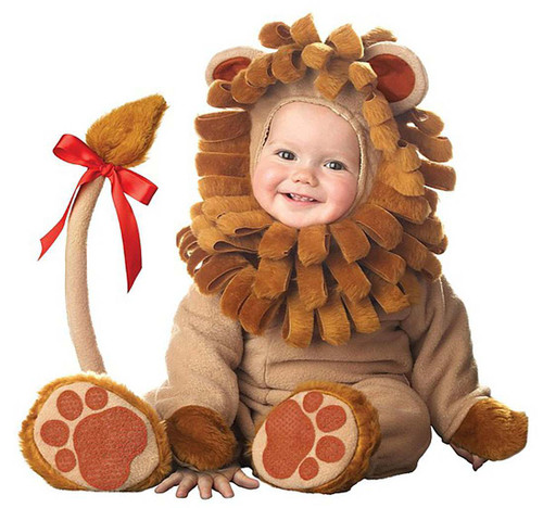 Lil' Lion Plush Costume