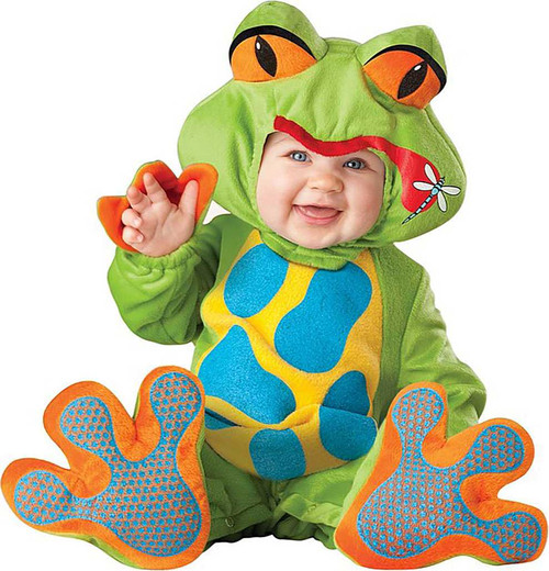 Lil' Froggy Frog Baby Costume