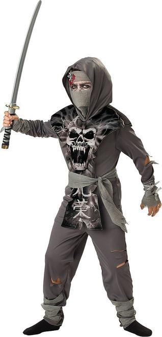 Zombie Ninja Boy Costume