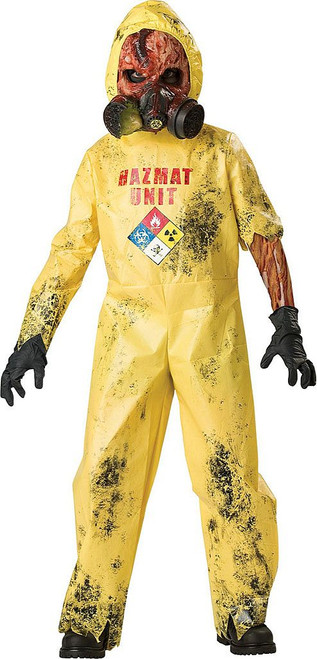 Hazmat Hazard Kids Costume