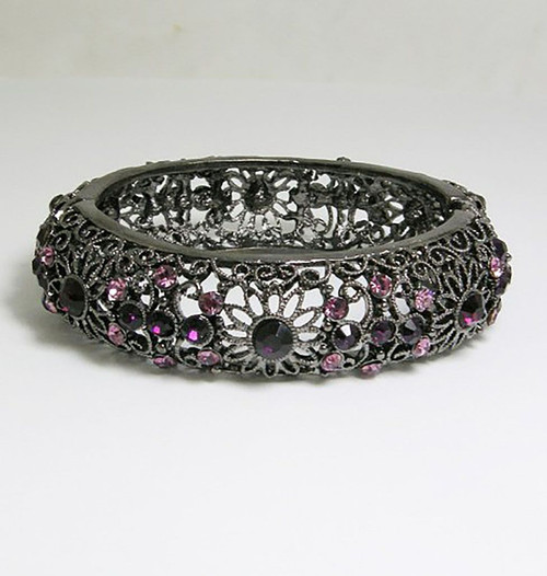 Purple/Black Bracelet