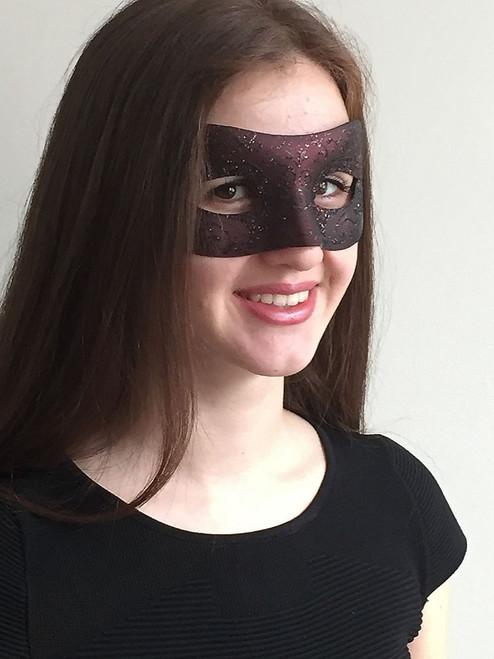 Venetian Masks Burgundy