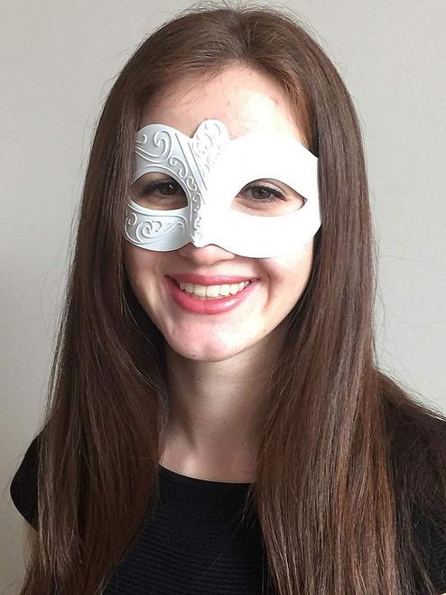 Venetian Mask White