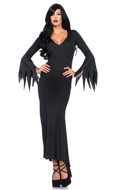 Womens Gothic Black Dress