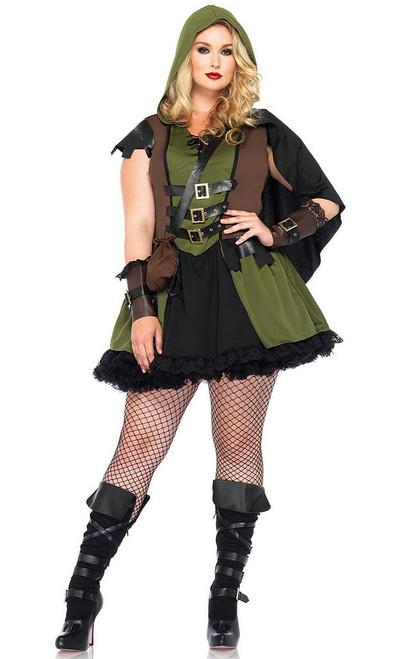 Darling Robin Hood Costue Plus