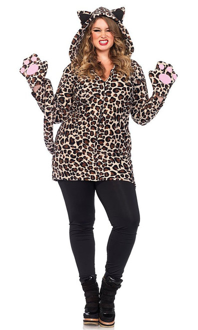 Cozy Leopard Plus Size Costume