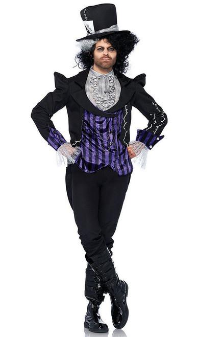 Dark Mad Hatter Mens Costume