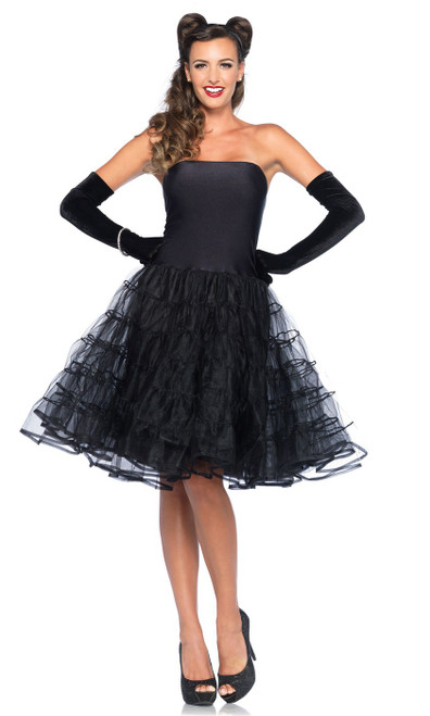 Rockabilly Swing Dress Black