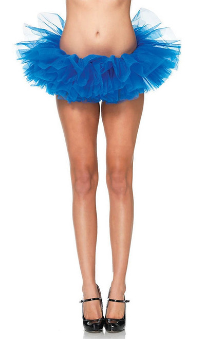 Layered Organza Tutu Blue
