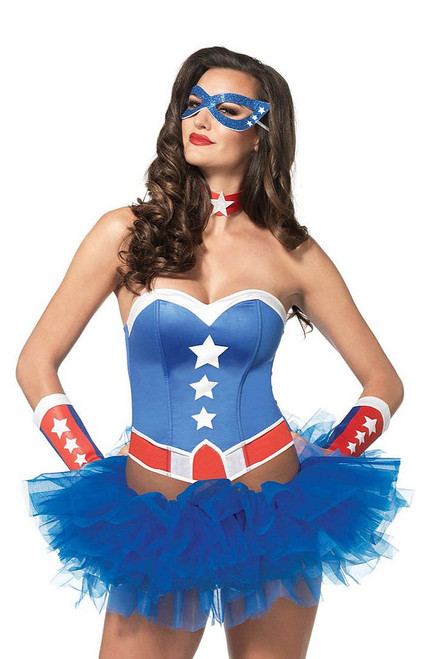 Lady Captain America Kit