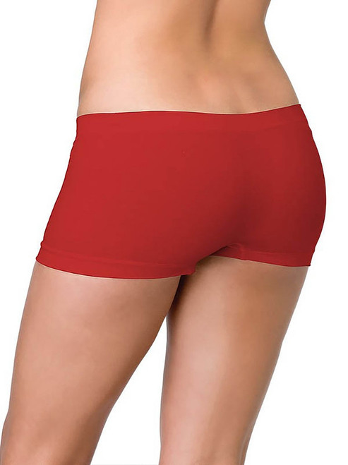 Seamless Boyshorts Red
