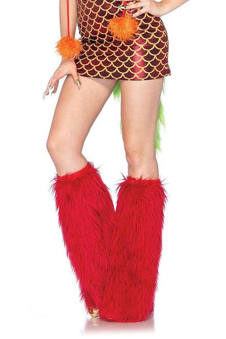 Fury Leg Warmer Red