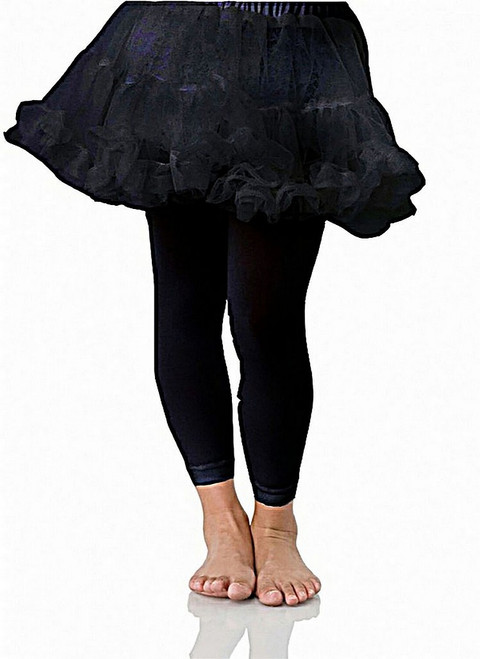 Kids Petticoats Black