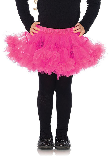 Child Petticoat Hot Pink