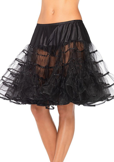 Long petticoat Black