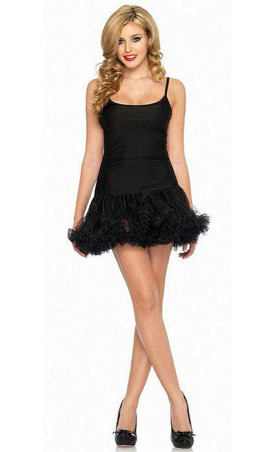 Petticoat Dress Black