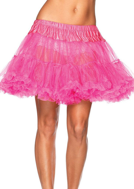 Layered Tulle Petticoat Pink