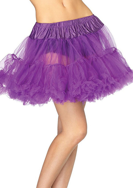 Layered Tulle petticoat Purple
