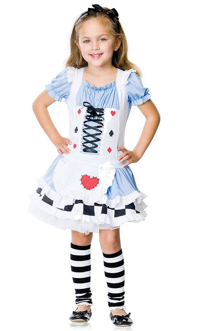 Alice Wonderland Girl Costume
