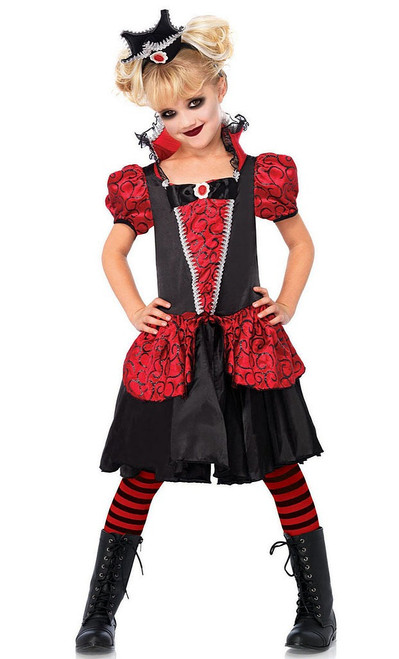 Vampire Queen Girl Costume