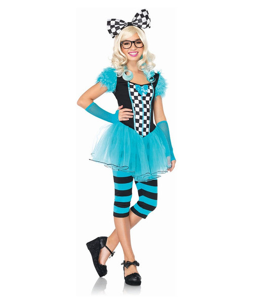 Hipster Alice Junior Costume