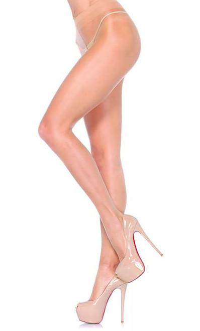 Spandex Sheer Pantyhose Nude