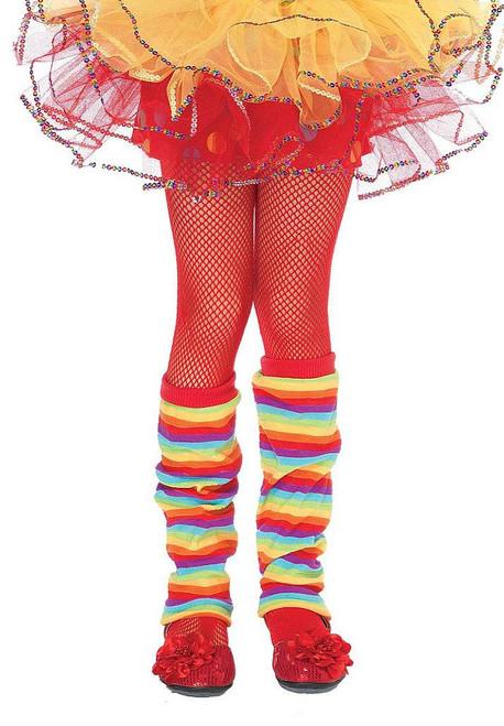 Girl Fishnet Red