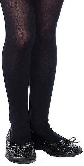 Girls Opaque Stockings Black
