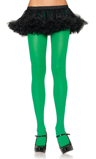 Nylon Tights Green Queen