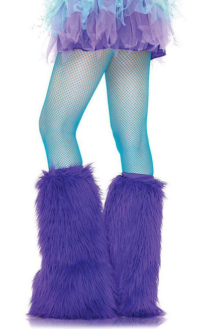Nylon Fishnet Pantyhose Blue