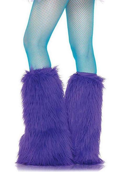Blue Nylon Fishnet Pantyhose